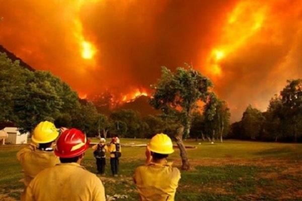 Incendio récord en la Patagonia argentina