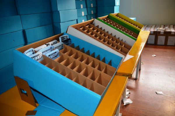 18 de junio: Boxes utilizados en las elecciones provinciales. Sería debut y despedida para las cajas de la Justicia Electoral.