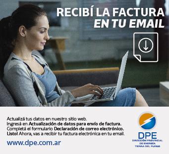 DPE Factura por email (aviso)