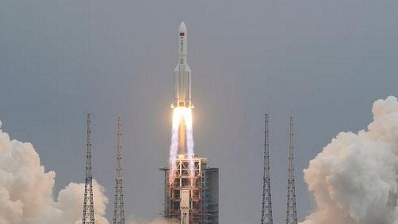 Polémica y preocupación por la caída sin control de un cohete chino