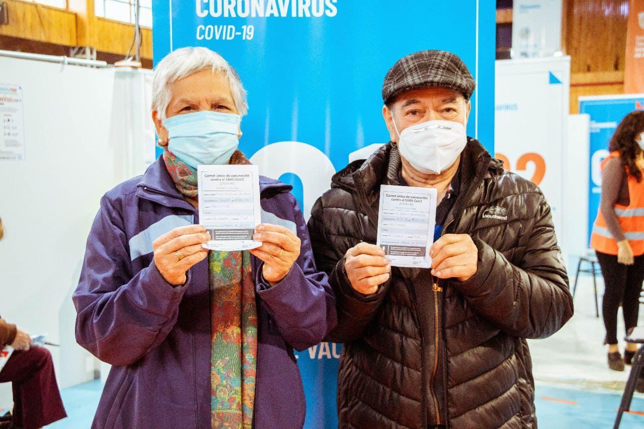 Goyogana destacó la marcha del plan de vacunación