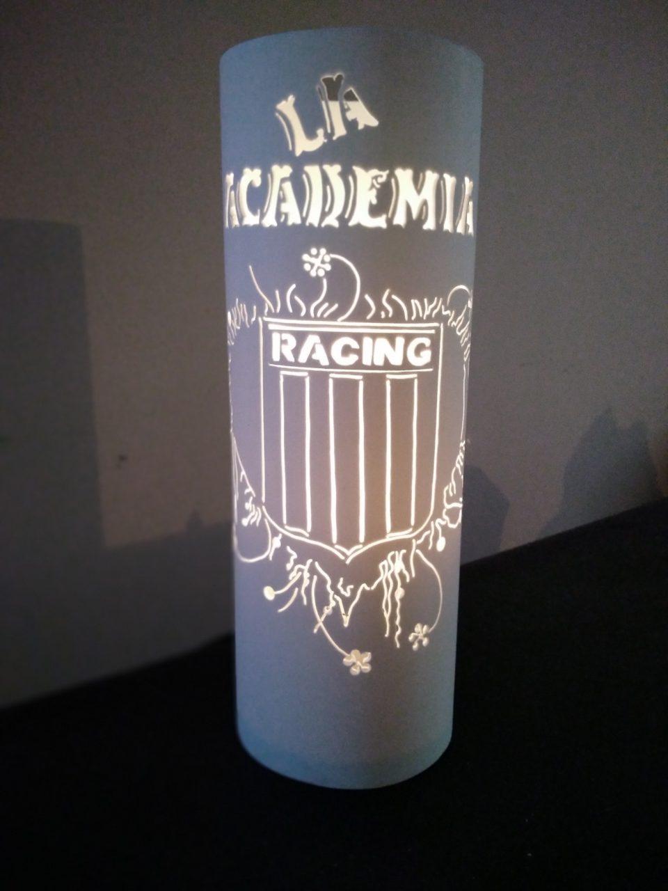 Ángel Luminarias , veladores tallados en PVC