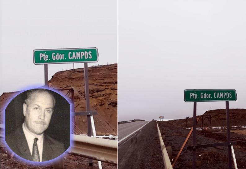 El puente sobre el río Grande lleva el nombre del exgobernador Manuel Campos