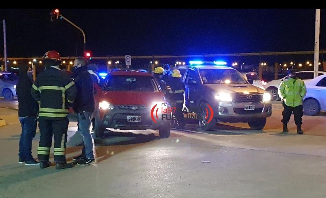 Un ciclista terminó en el Hospital tras ser embestido por un vehículo