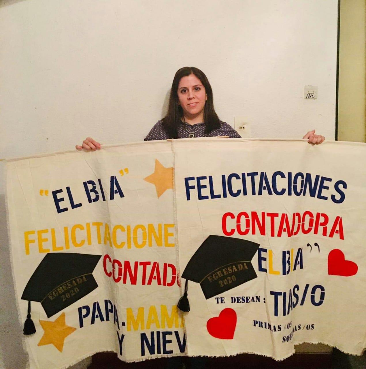 Elbia Muñoz, técnica universitaria contable y contadora pública