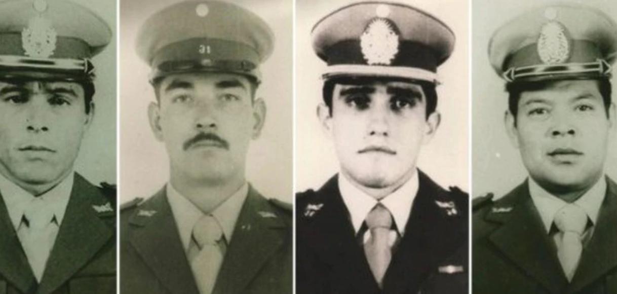 Identificaron a 4 gendarmes que yacían en una tumba común en Darwin