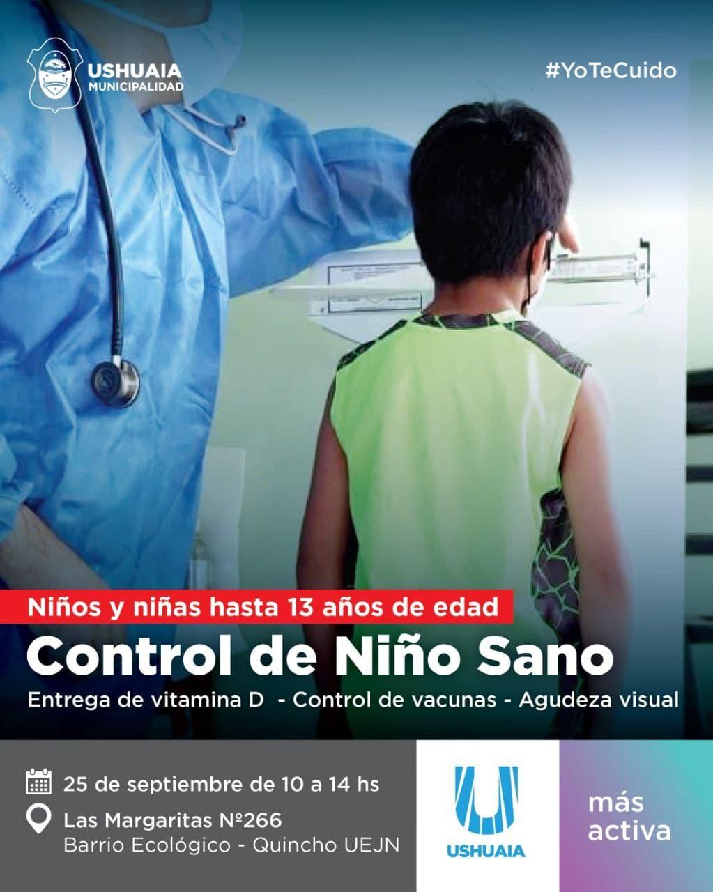 Nueva jornada de «Control de Niño Sano» en el Barrio Ecológico
