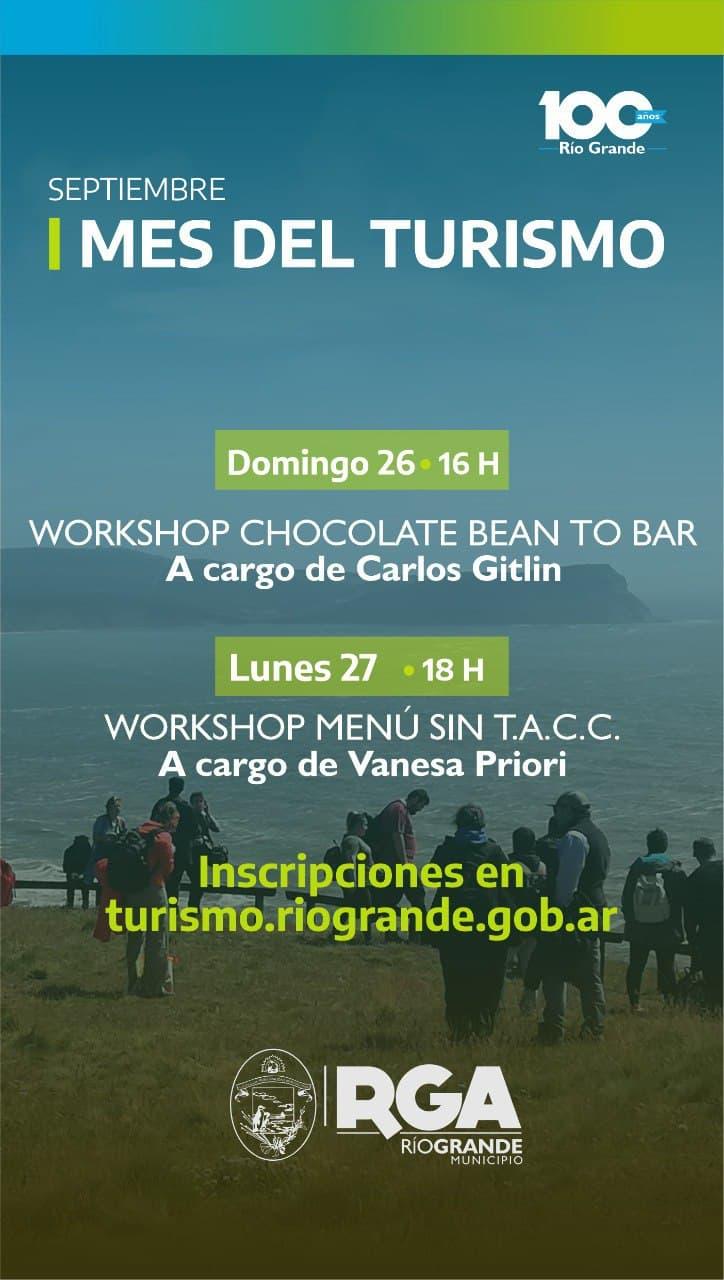 Realizarán dos workshops sobre chocolates artesanales y menúes sin TACC