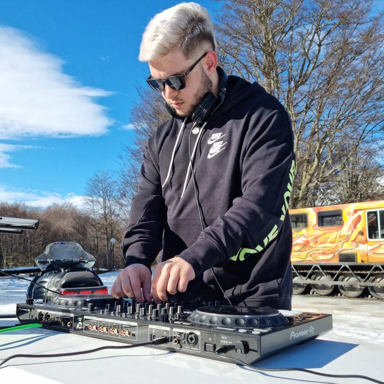 Mateo Nalda, productor de sonido y DJ