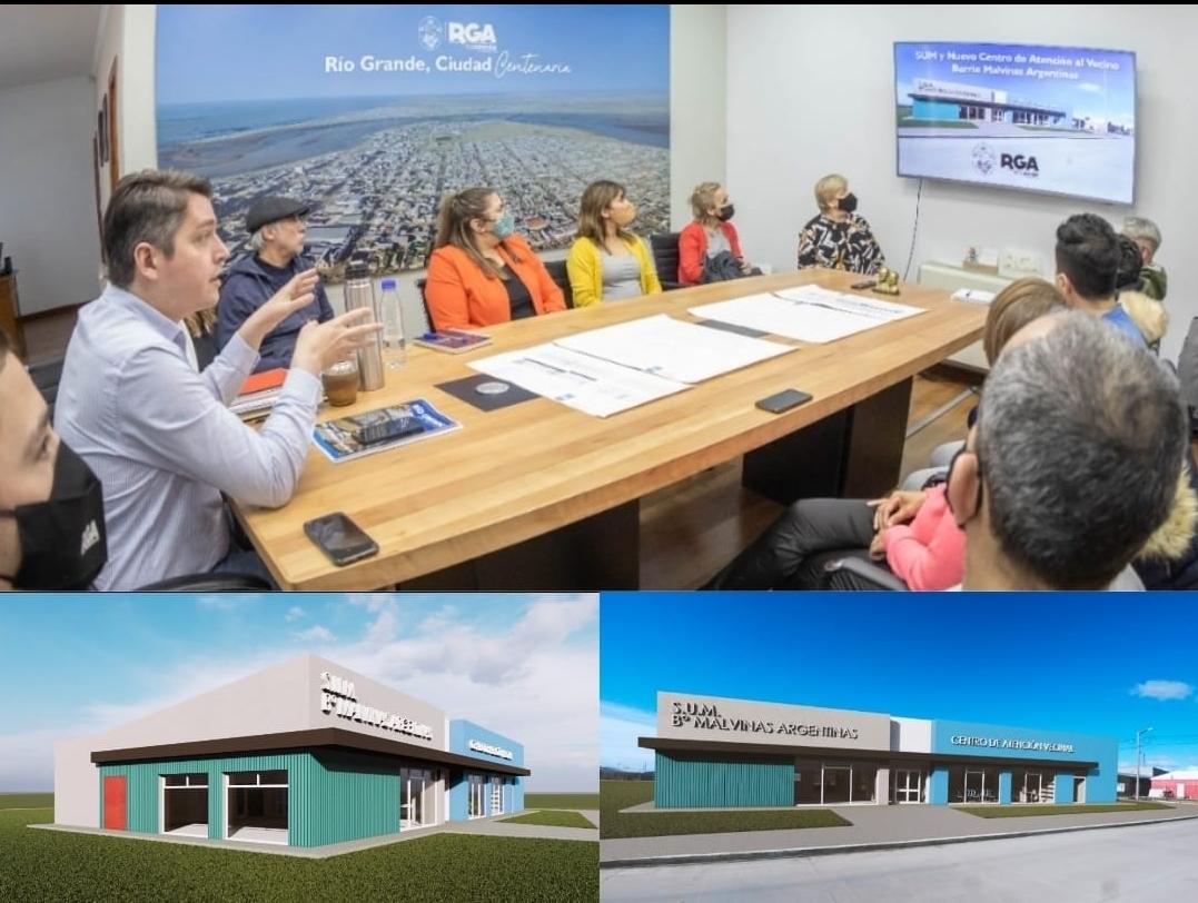 Habrá un centro similar al CGP Padre Zink en el barrio Malvinas Argentinas