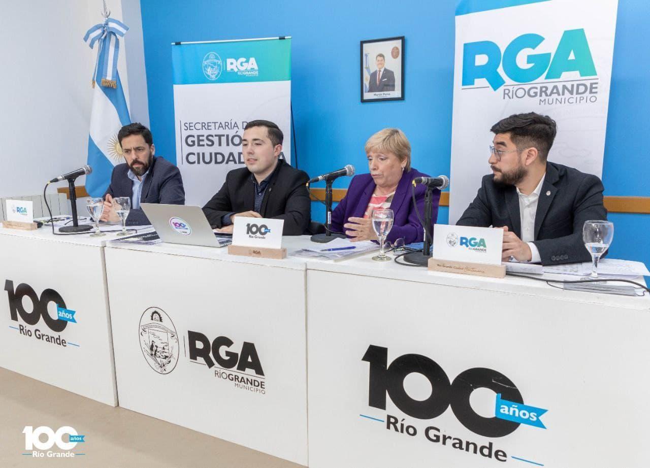 «Tenemos la convicción y vocación política de transformar Río Grande», dijo Ferro